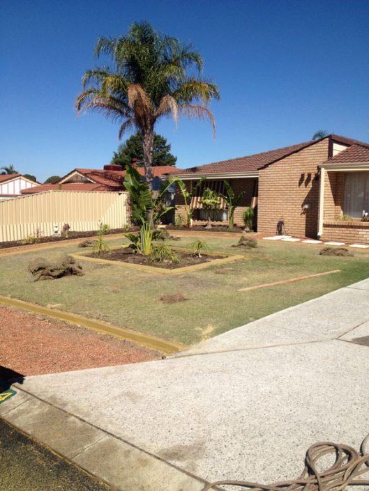 concrete lawn edging Perth