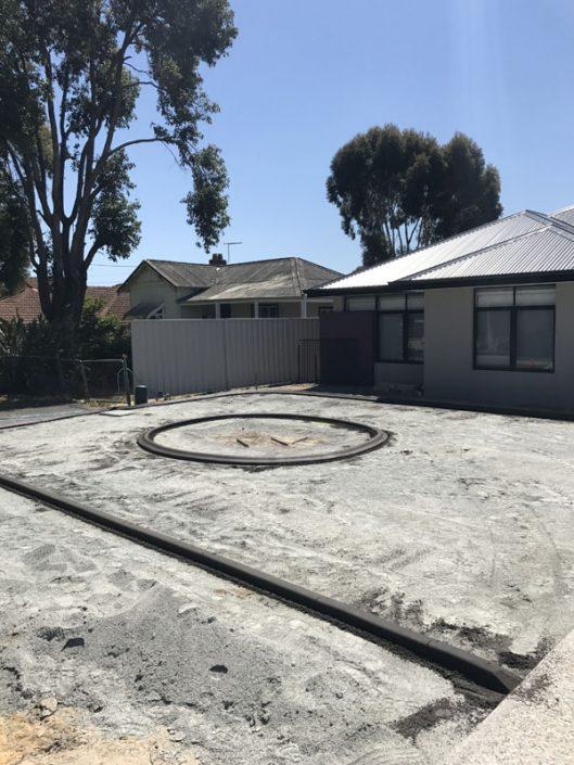 concrete lawn edging