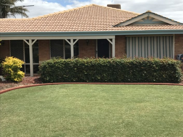 lawn edging Perth