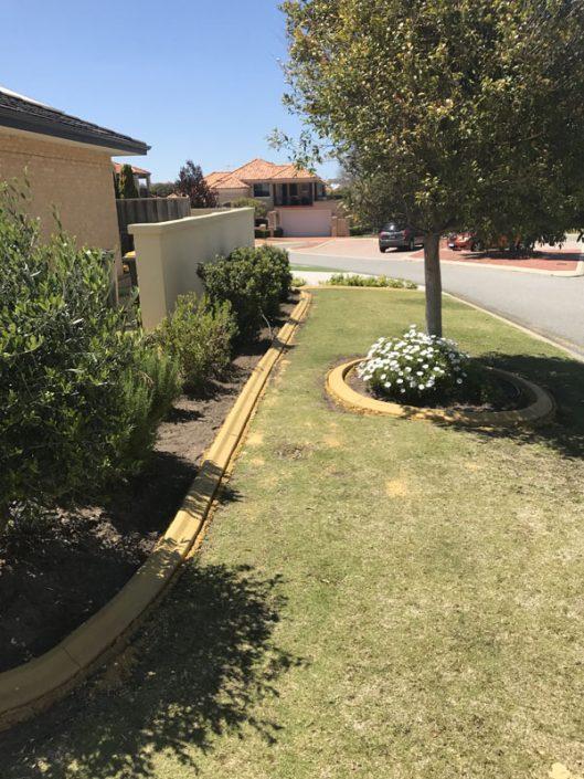 garden concrete edging