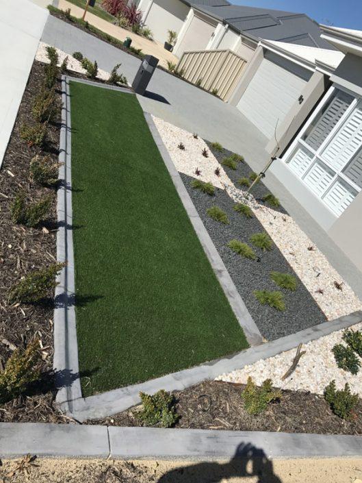 garden concrete edging Perth